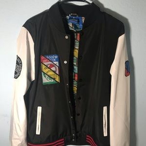 Adidas varsity jacket size medium